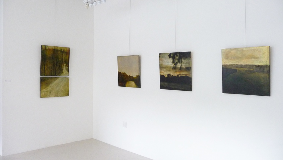 Installation view, Dorothy Simpson Krause: River of Grass at 571 Projects, NYC